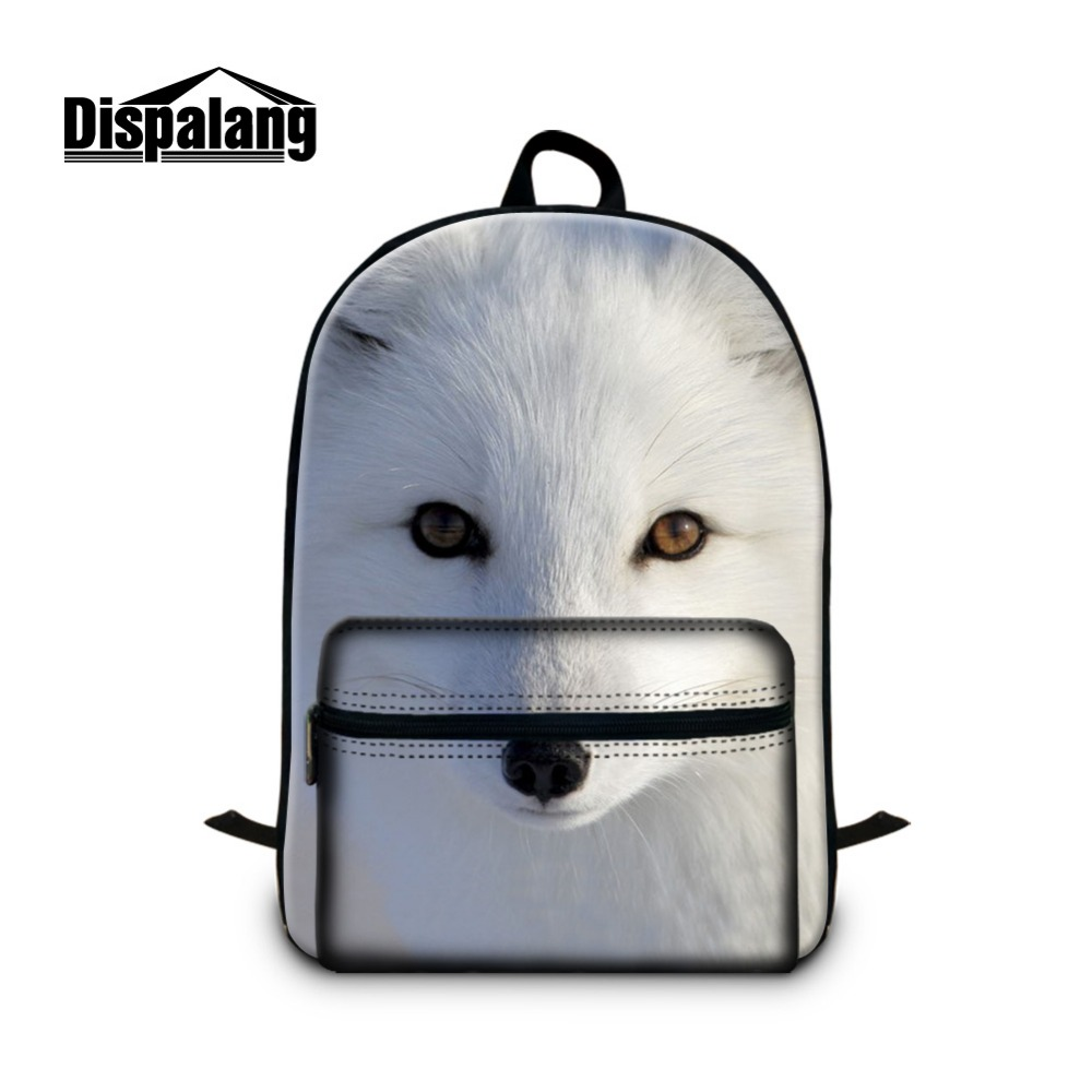 Fox Backpacks for Teen Girls School Bags Patterns Lightweight Bookbags for Boys Fashion Day Pack for Guy Women Traveling Bags women school bags kawaii 3d book bags for teen boys and girls 3d jump style 2d drawing escolar mochial printed game bags fcf cb