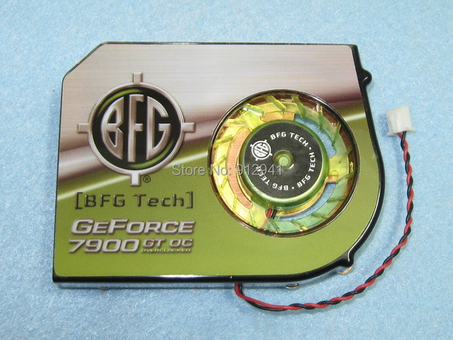 53mm X 4 Mounting Holes 2Pin Video Card Heatsink Cooler Cooling Fan For NVIDIA BFG FX1500
