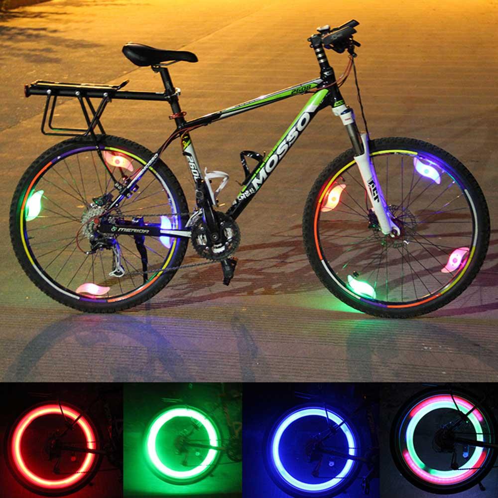 Fahrrad Sprach Lampe Radfahren Bike Willow LED Rad Draht Reifen ...