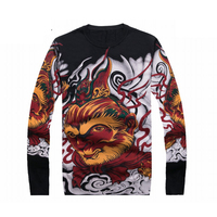 2017 Sweater Pullover Vintage Men S Basic Knit Fashion Clothing Knit Tops For Autumn Winter YH1833
