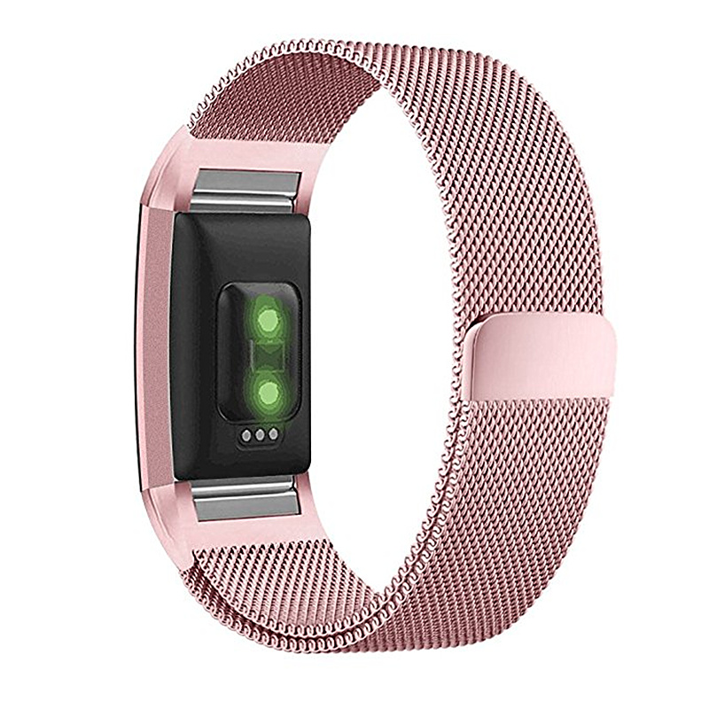ASHEI For Fitbit Charge 2 Bands Small Large Milanese Loop Stainless Steel Metal Bracelet Strap Accessories for Fitbit Charge 2 ASHEI For Fitbit Charge 2 Bands Small Large Milanese Loop Stainless Steel Metal Bracelet Strap Accessories for Fitbit Charge 2