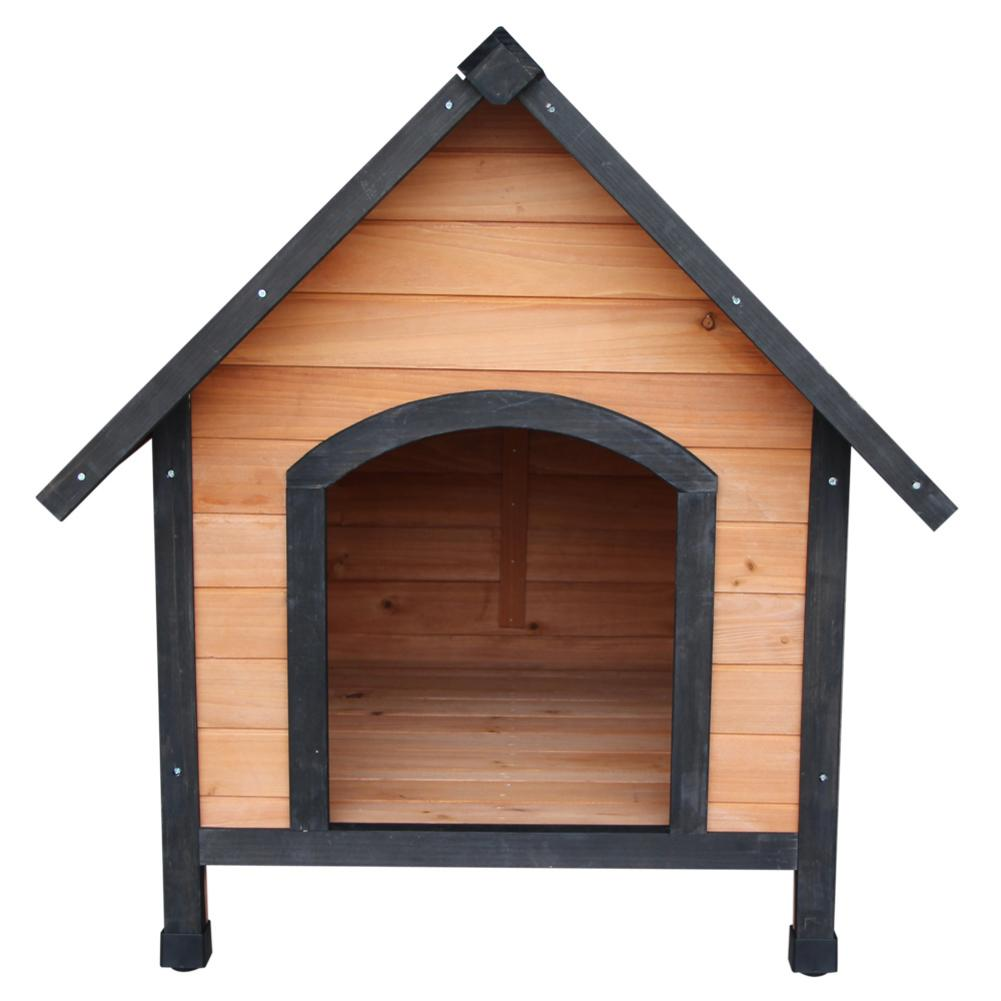 <font><b>Dog</b></font> <font><b>House</b></font> Pet <font><b>Outdoor</b></font> Bed <font><b>Wood</b></font> Shelter Home Weather Kennel Waterproof Wooden <font><b>Dog</b></font> <font><b>House</b></font> Pet Nest For <font><b>Dog</b></font> image
