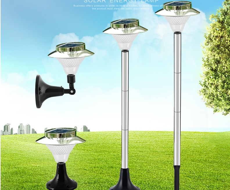 Pali luce da giardino: moderna energia solare luci recinzione pali