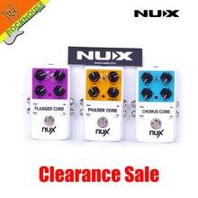 NUX Mod Kuvvet Sürücü Kuvvet Koro Çekirdek Flanger Çekirdek Phaser Çekirdek Gitar Efektleri pedal Ücretsiz kargo
