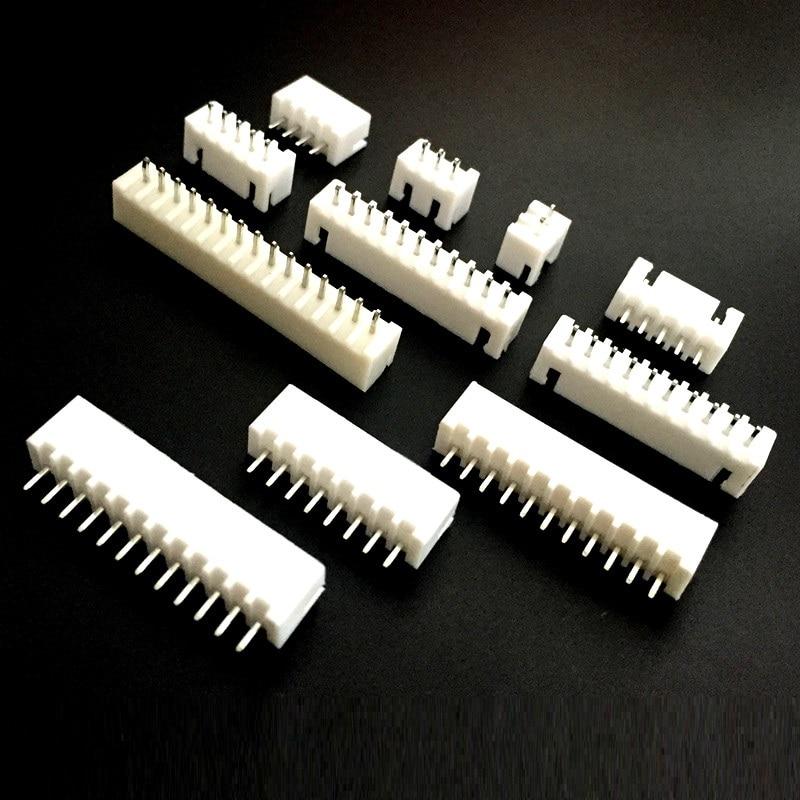 EziUsin XH-2.54 Pitch 2.54MM Connector Straight Feet Needle Seat Socket 2P 3P 4P 5P 6P 7P 8P 9P 10P 11P 12P XH2.54 AEziUsin XH-2.54 Pitch 2.54MM Connector Straight Feet Needle Seat Socket 2P 3P 4P 5P 6P 7P 8P 9P 10P 11P 12P XH2.54 A