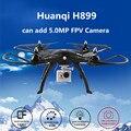 Zangão Drones FPV Quadcopter 6 Eixos Giroscópio HQ H899 Profissional Sem Cabeça rc helicóptero vs MJX Zangão X101 Tarântula x6 x8w/x8g/x8c