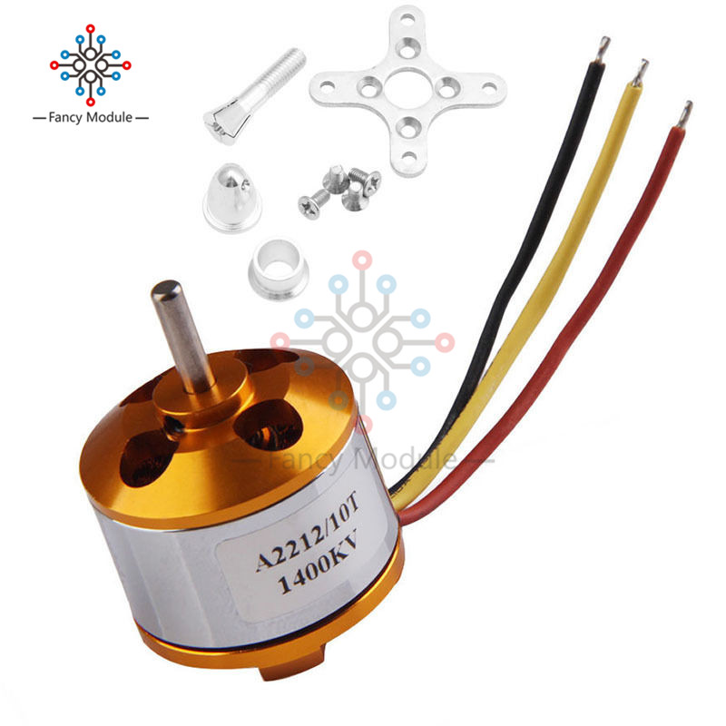1Pcs A2212 930KV 1400KV 2200KV 2700KV Brushless Motor for Aircraft Plane Multi-copter RC Quad Rotor Multicopter Motor1Pcs A2212 930KV 1400KV 2200KV 2700KV Brushless Motor for Aircraft Plane Multi-copter RC Quad Rotor Multicopter Motor