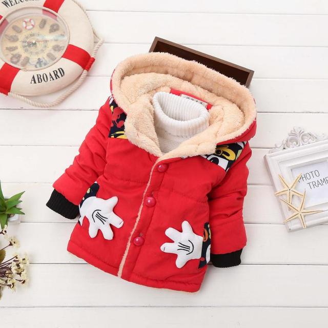 Infant Coat 2019 Autumn Winter Baby Jackets For Baby Boys Jacket Kids Warm Outerwear Coats For Baby Girls Jacket Newborn Clothes