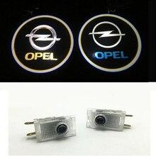 2X автомобиля светодиодный Дверь Добро пожаловать логотип лазерный проектор Ghost Shadow светильник для Opel Insignia логотип Opel светильник s логотип Opel светодиодный