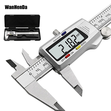 Hot Sale 6 Inch150mm digital calipers Stainless Steel font b Electronic b font Digital Vernier Caliper