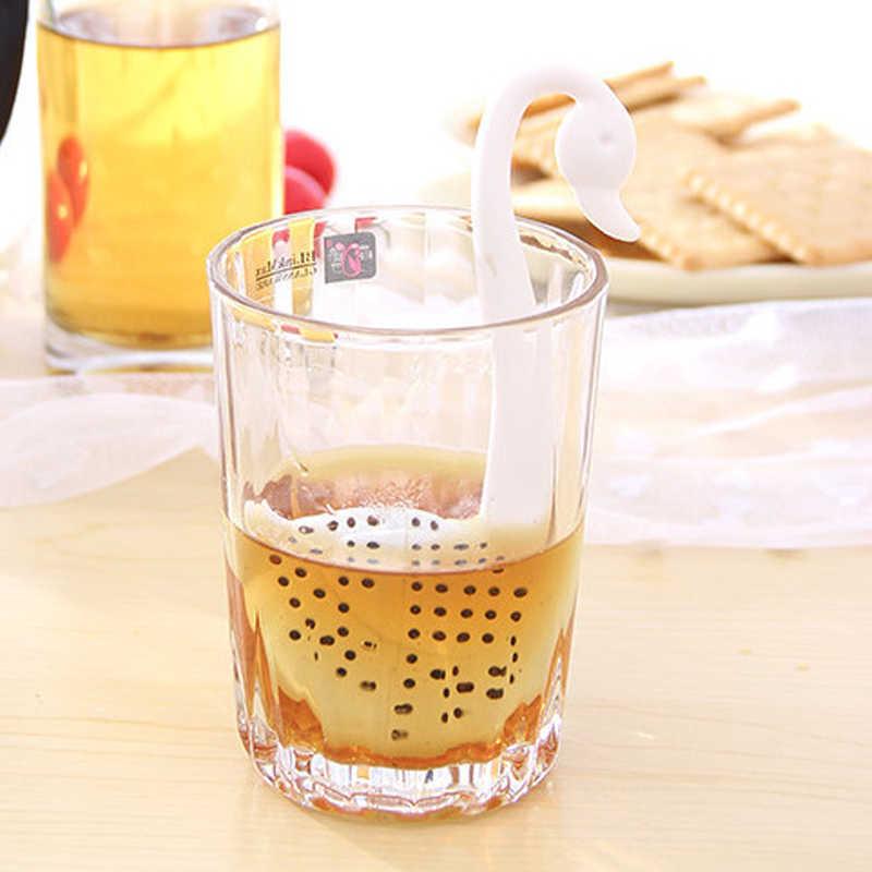 Чай заварки Лебедь свободные Чай фильтр травы Специи фильтр диффузор Кухня гаджеты Кофе фильтр Посуда Аксессуары жизни Partner7
