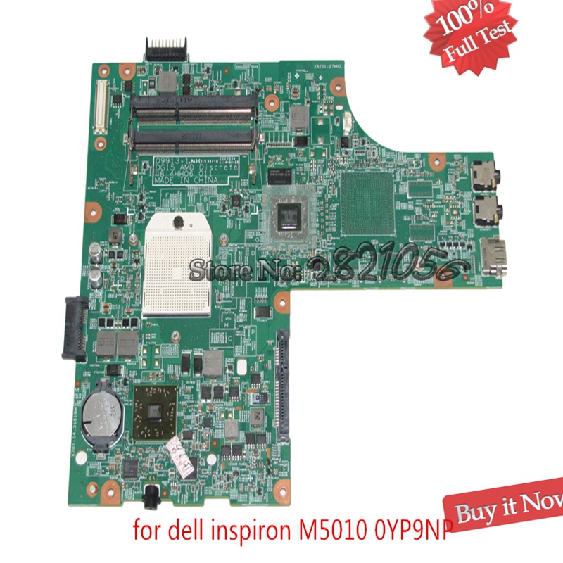 NOKOTION Mainboard CN-0YP9NP YP9NP 0YP9NP For Dell Inspiron 15R M5010 Laptop Motherboard 48.4HH06.011 Socket s1 DDR3 Free CPU цена
