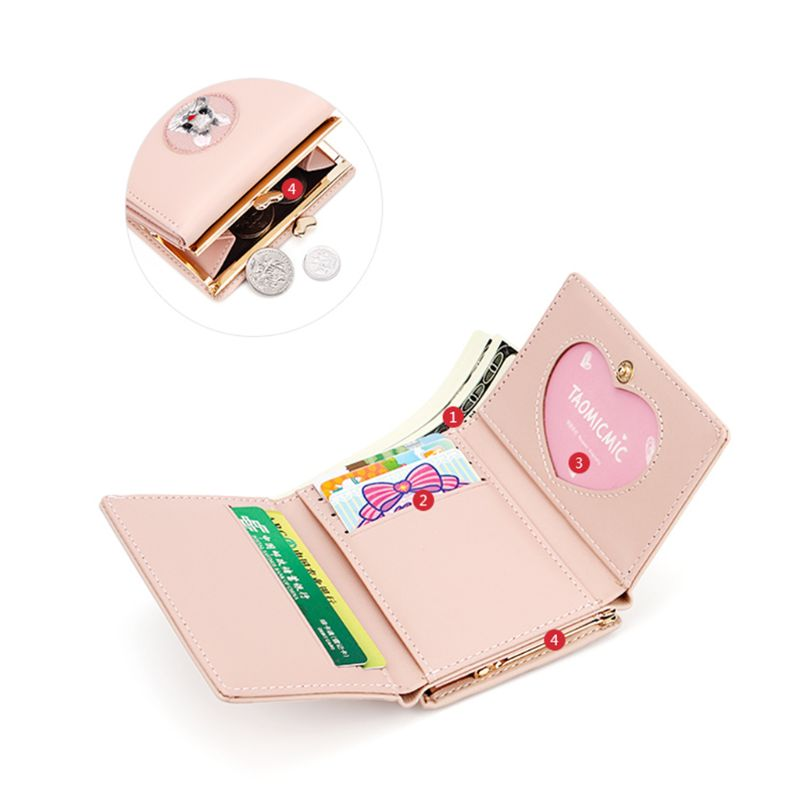 Fashion Women Ladies Leather Purse Money Case Wallet Clutch Credit Card Bag Holder Gift