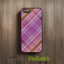 Pink Tartan phone case cover for samsung galaxy s3 s4 s5 s6 s7 s6 edge s7 edge note 3 note 4 note 5 #kb1321