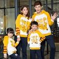 Família familiar Set Garfield camisola roupas para mãe e filha filho pai roupas da família, Ch22