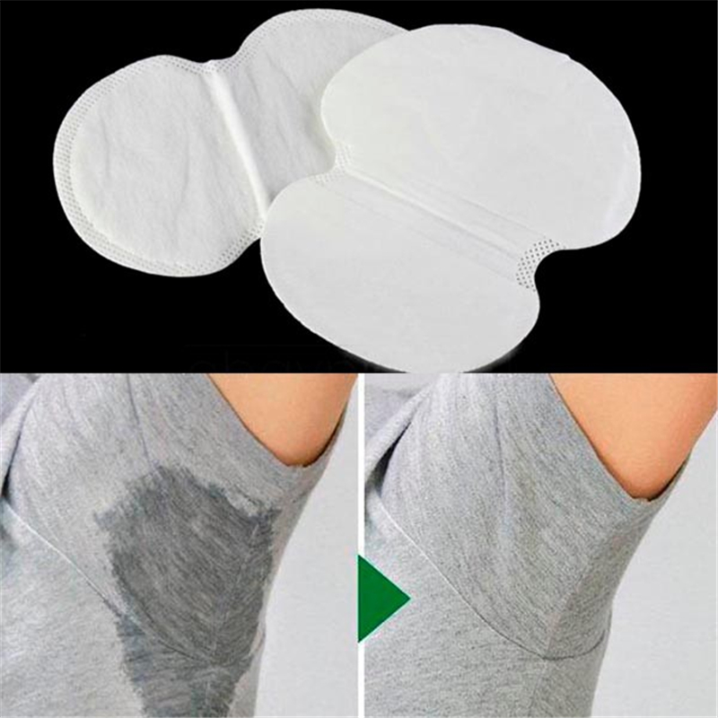 10/30 New Underarm Sweat Shield Pad Washable Armpit Sweat Absorbing Guards Shoulder Strap Skin Color