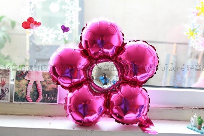 5st / lot 35cm Flerfärg blomma ballonger Flerfärg Ballonger Party - Semester och fester - Foto 3