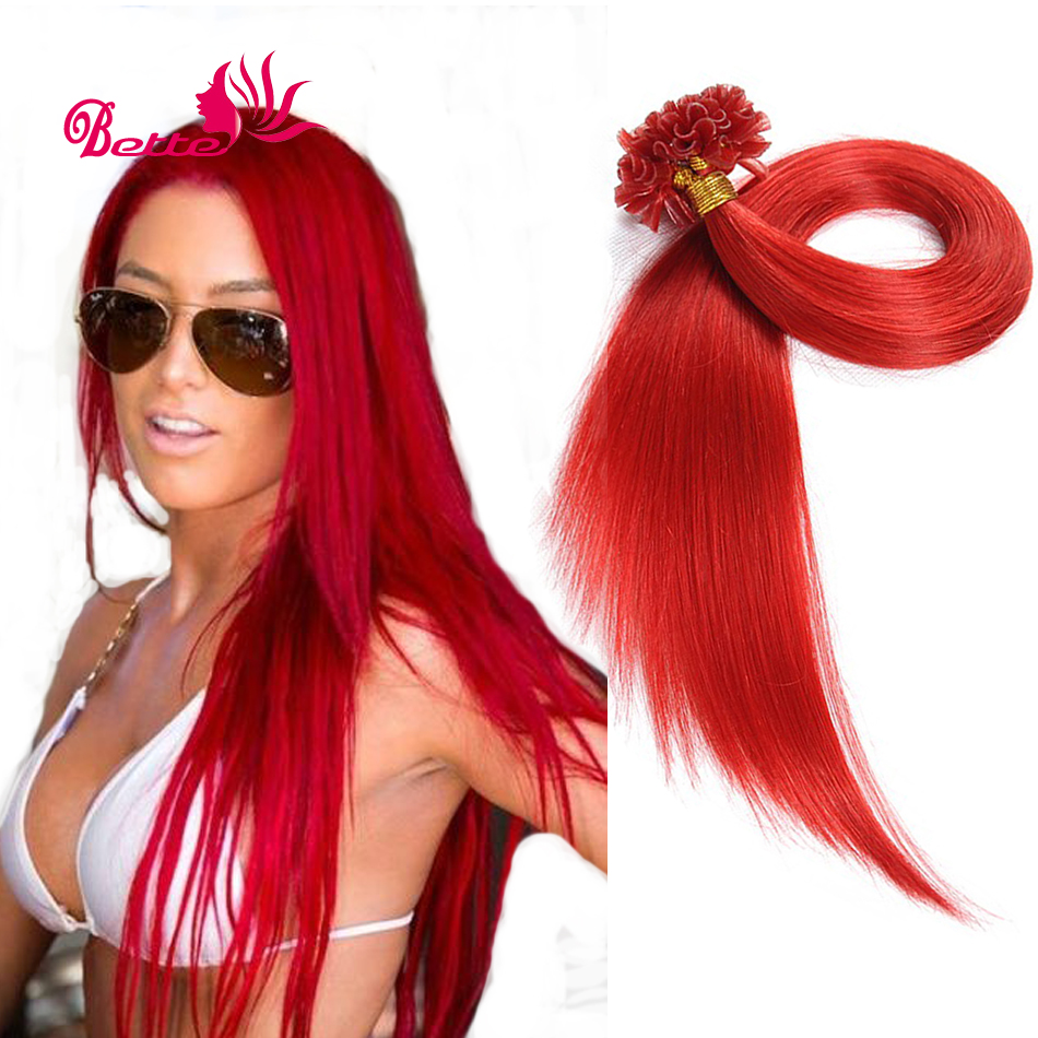 Can you get red hair extensions