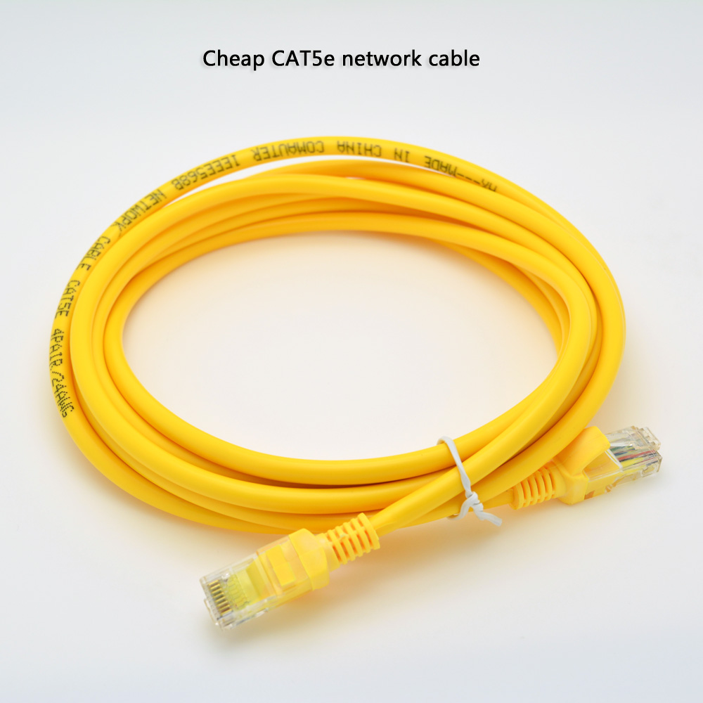 Cheap Utp Cat5e Cable Rj45 Network Ethernet Copper Clad Aluminum Wiring Twisted Pair Fast Patch Cord Lan In Computer Cables Connectors