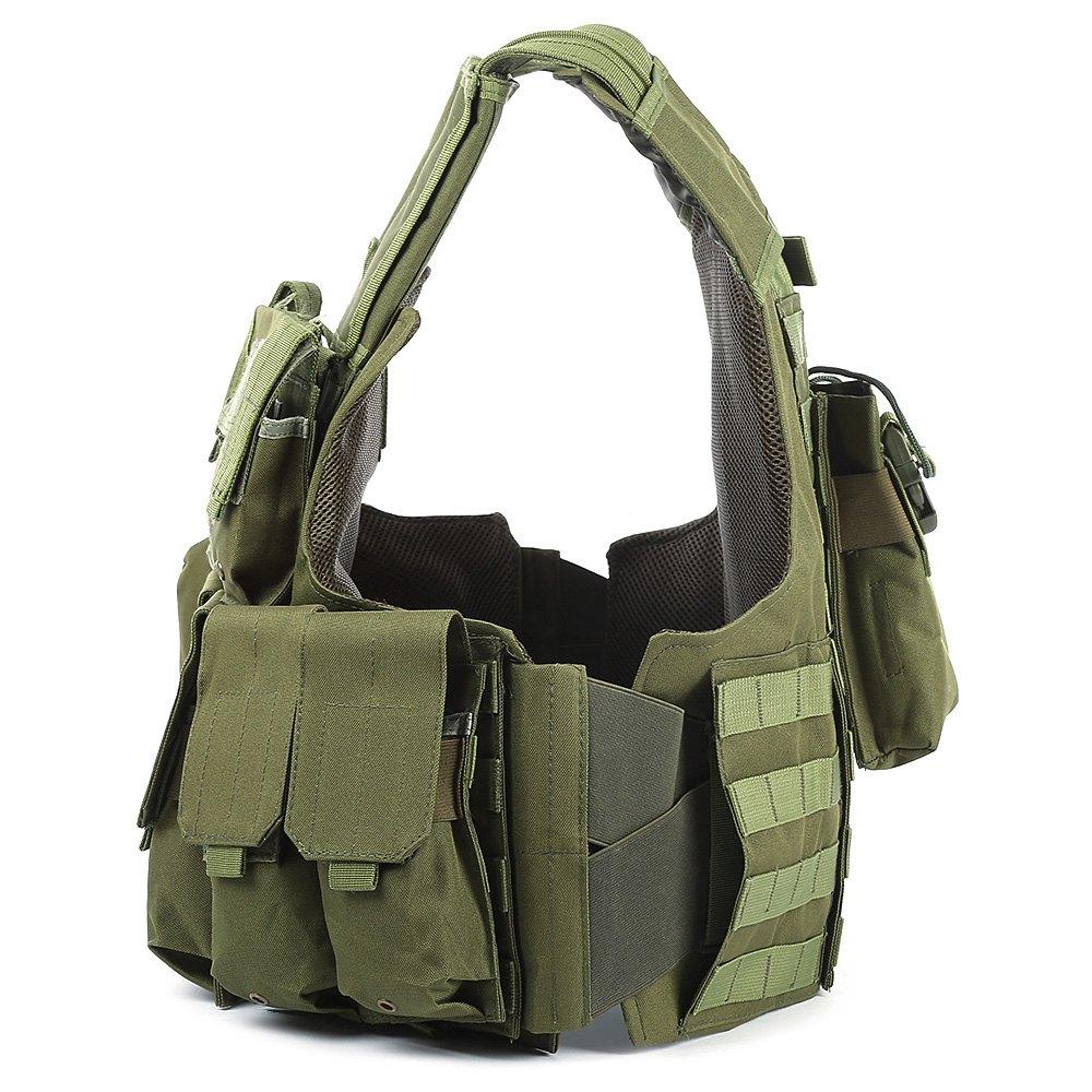 Gilet tactique de chasse avec beaucoup de poches militaire Molle - Sportswear et accessoires - Photo 4