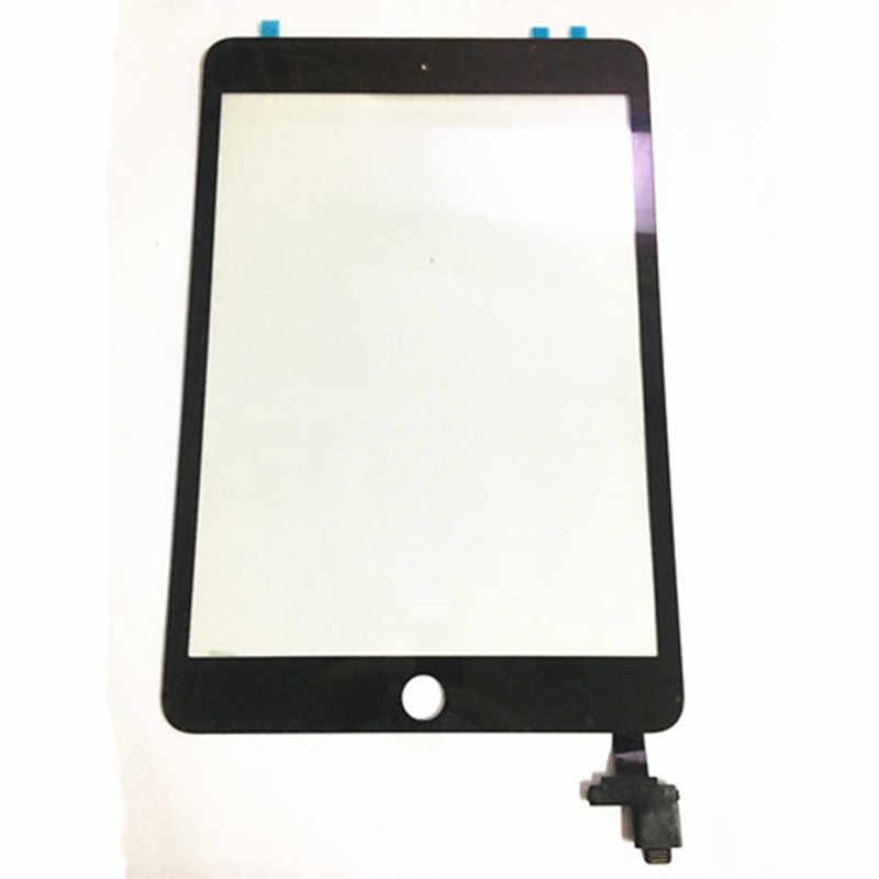 "DHL gratis 20 unids/lote 7,9 ""Pantalla táctil digitalizador sin IC conector Tablet PC piezas Panel táctil para iPad Mini 3 Mini3 A1599"