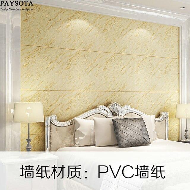 US $33.54 14% di SCONTO|PAYSOTA Moderno Marmo Artificiale Stripe 3D Carta  Da Parati Camera da letto Soggiorno TV Divano Sfondo Carta Da Parati in ...