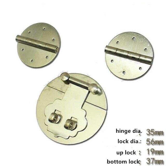 Wooden Jewelry Box Vase Buckle Metal Box Hasp Latch Brass Lock
