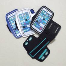 """100PCS/Lot Gym Running Armbands Bag For Apple iPhone 7 Plus Arm Band Case 5.5"""" By DHL sherrytree"""