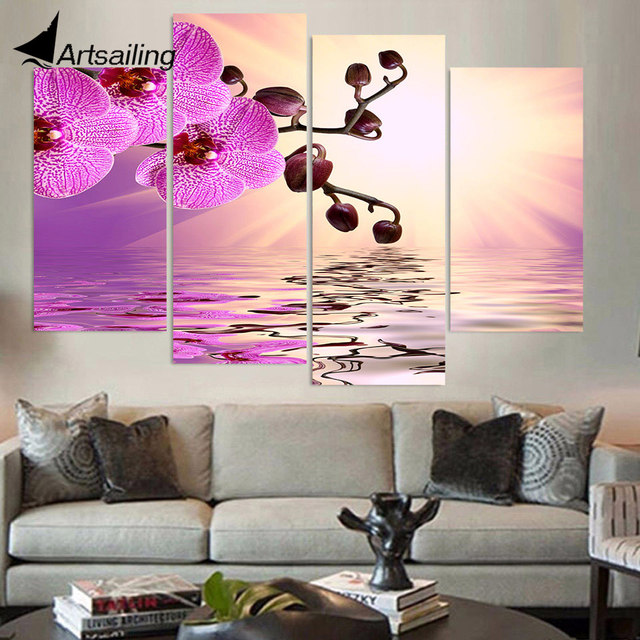 Funky Canvas Wall Art For Living Room Vignette - Living Room Designs ...