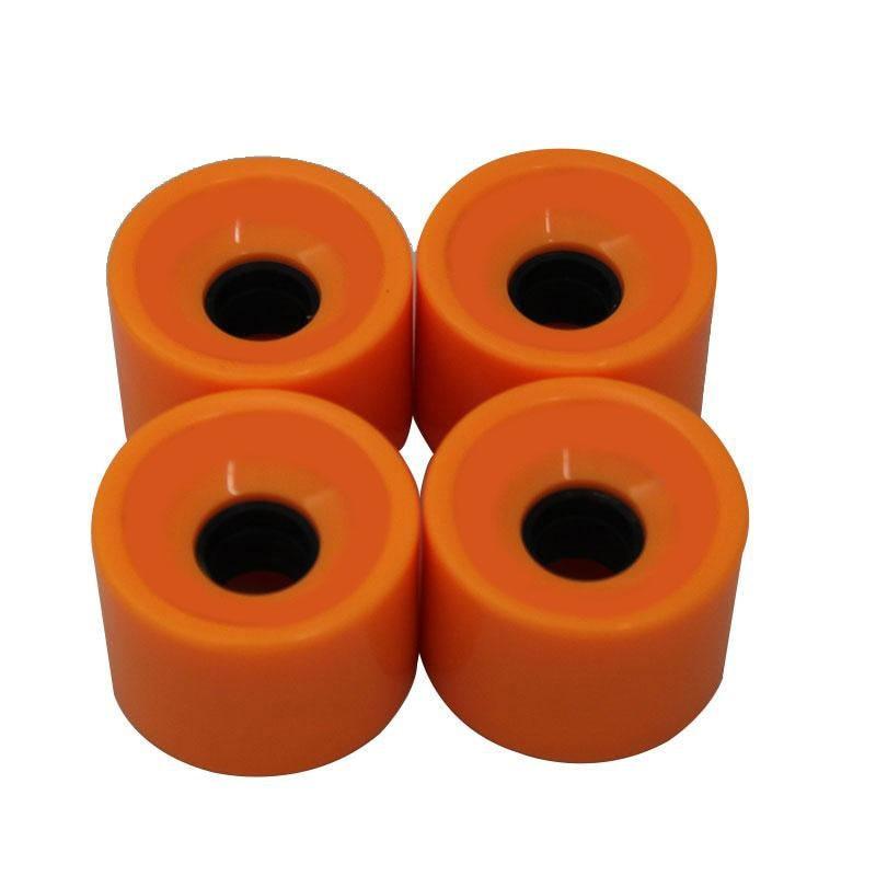 Creative Skateboard Wheels Bearings Elastic PU Wearable Flexible Durable 70x51