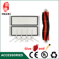 1 Set Vacuum Part Pack Spare Parts HEPA Filter Main Brush Cleaning Tool Side Brush For