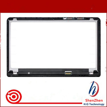 """Original 15.6"""" LCD display Assembly Touch Screen Digitizer Glass With Frame 862643-001 For HP Pavilion x360 15-BK Series"""