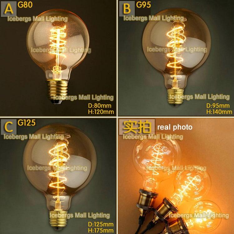 Buy B22 110v 220v 40w Candle Vintage Edison Filament: Aliexpress.com : Buy Vintage Edison Incandescent Light