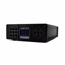 25 Вт Цифровой OLED радио плеер хост PLL стерео FM стерео аудио передатчик хост 87 M-108 MHz