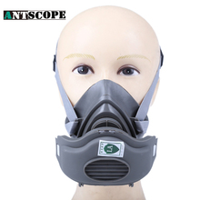 Working Dust Mask Chemical Respirator Paint Mask With Filter Respiratory Protection Pesticide Industrial Rubber Dust Mask
