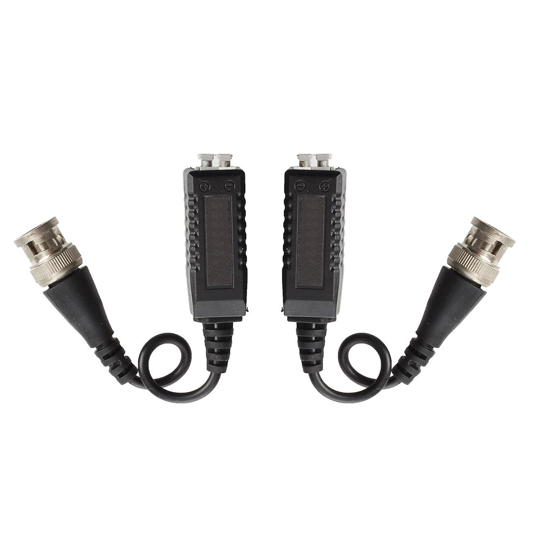 MOOL  2x Video Balun BNC Cat5 Passive transmitter Two Wire for CCTV / Security CameraMOOL  2x Video Balun BNC Cat5 Passive transmitter Two Wire for CCTV / Security Camera