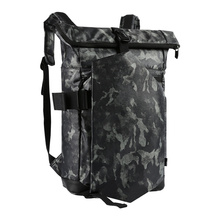 Large Capacity Camouflage Print Backpack Fashion Streetwear Army Climbing Backpack Schoolbag Comfortable Strap Men Backpack Bag men zip front camouflage detail backpack