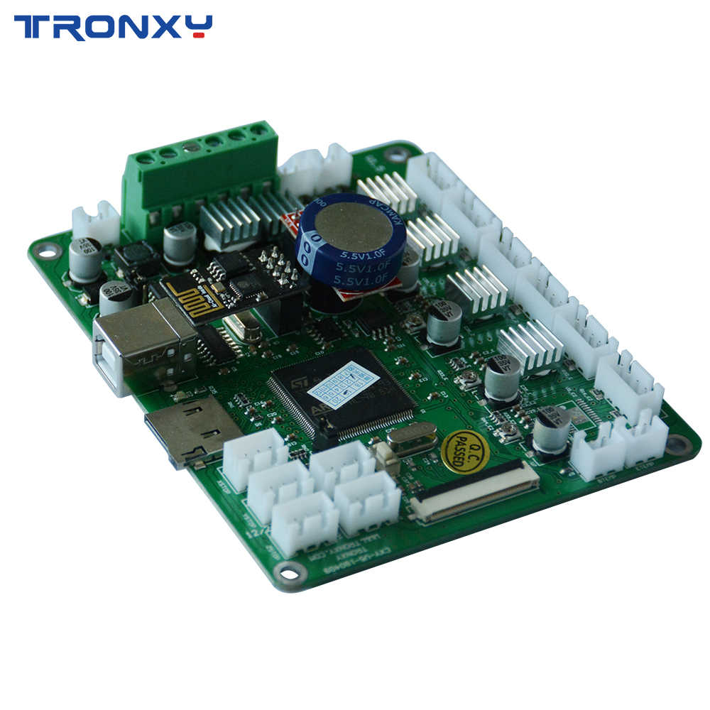 TRONXY Newest Version Wifi Upgrades Controller Board Cloned DuetWifi  Advanced 32bit Motherboard For 3D Printer XY-2 X5SA Machine