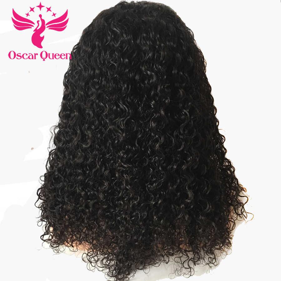 Pelucas del pelo humano del cordón de la densidad 250% para el pelo Remy de las mujeres negras con el pelo del bebé peluca Frontal del cordón peruano blanqueada nudos