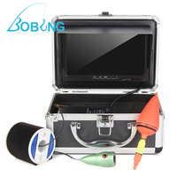 F002MD HD Camera Screen Underwater Fish Finder With White LED Light 30m Waterproof Cable Line Accessories
