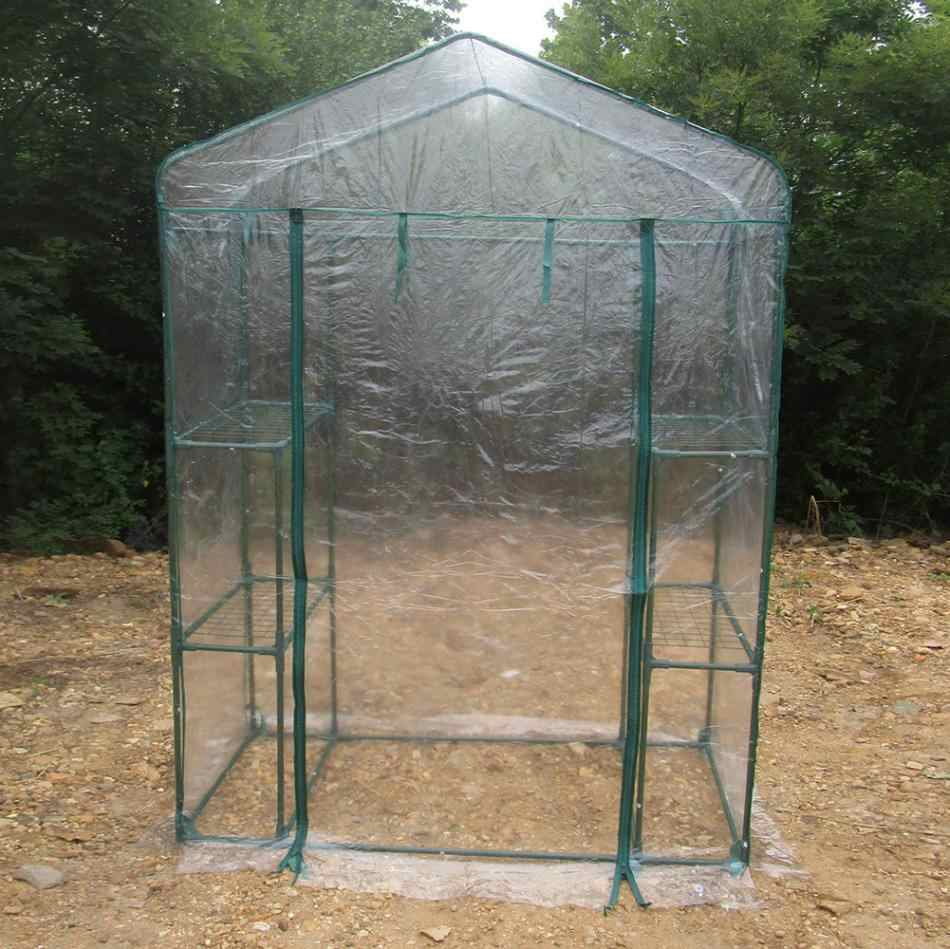 Portable Garden Green House Cover Warm Greenhouse Flower Plants Gardening Outdoor Display 143 x 73 x195cm