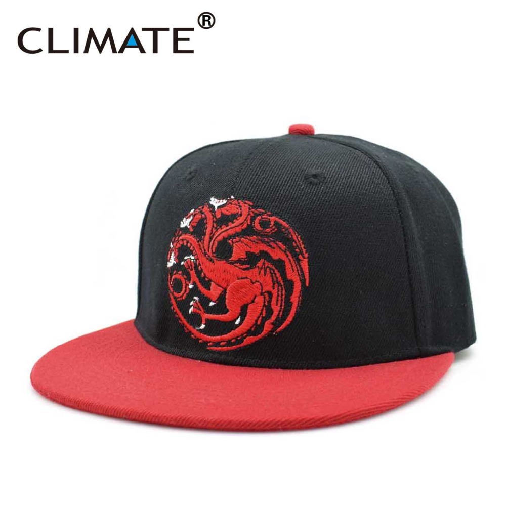 a1279a86e2985 CLIMATE new Hot Game Of Thrones Targaryen Stark Hiphop Snapback Caps Wolf  Gragon Fire And Blood Winter Is Coming Snapback Caps-in Baseball Caps from  Apparel ...