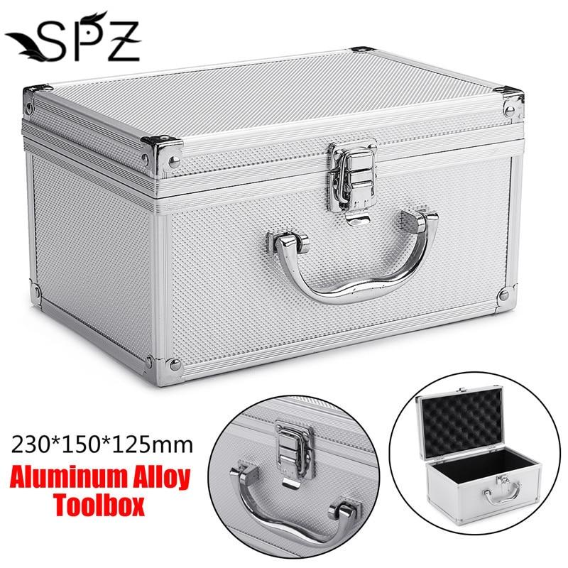 Aluminium Tattoo/Gun Carrying Case Rotary Coil Tattoo Machine Storage Box Permanent Makeup Embroidery Equipment 230 * 150 * 125m