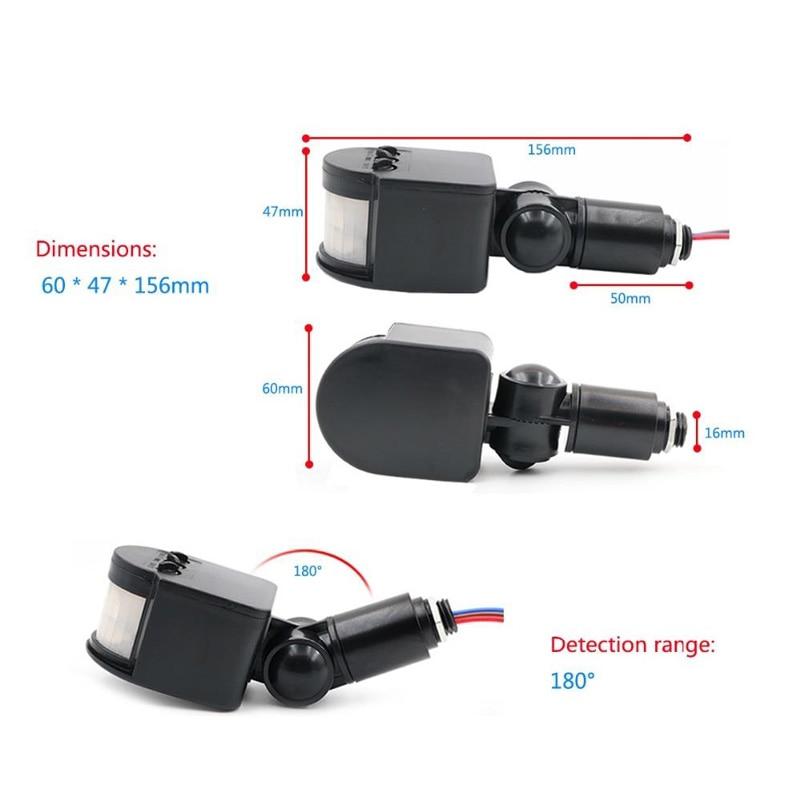 Motion sensor DIY Detector Corridor Outdoor LED PIR Low voltage 85-265V//12V