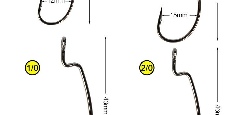gabarito círculo ganchos de pesca grande lacuna