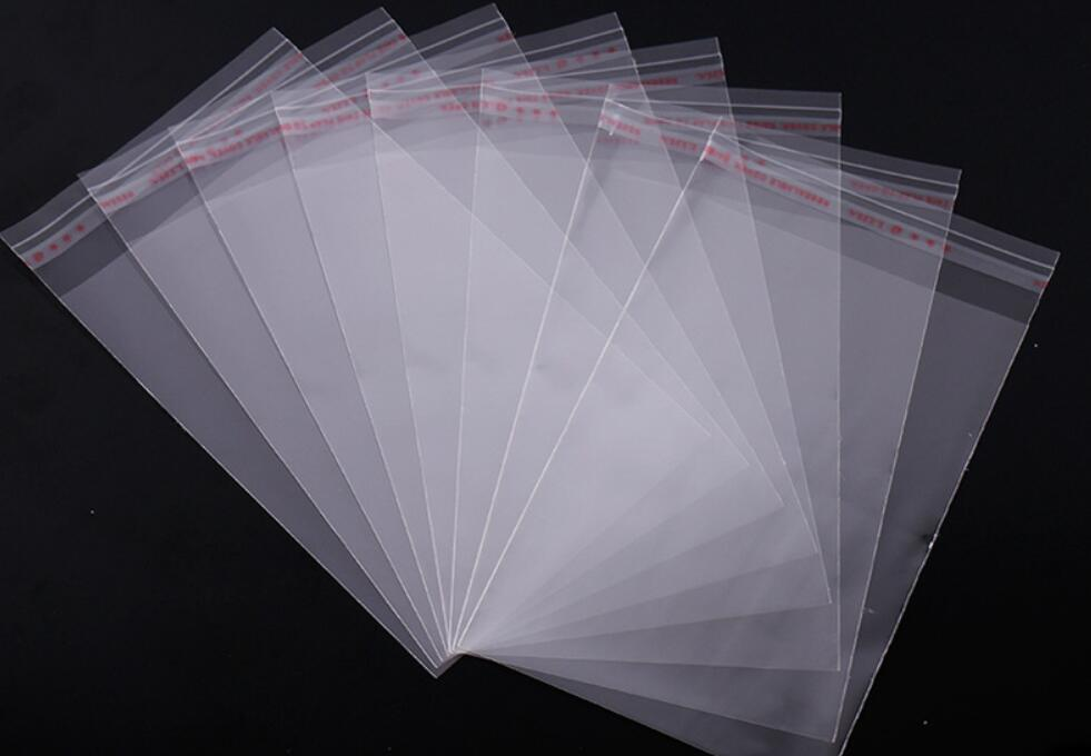 3000pcs lot 16 23cm Transparent Resealable Cellophane OPP Poly Bags Self Adhesive Plastic Bag Self Adhesive Seal Bags Candy Bag in Storage Bags from Home Garden