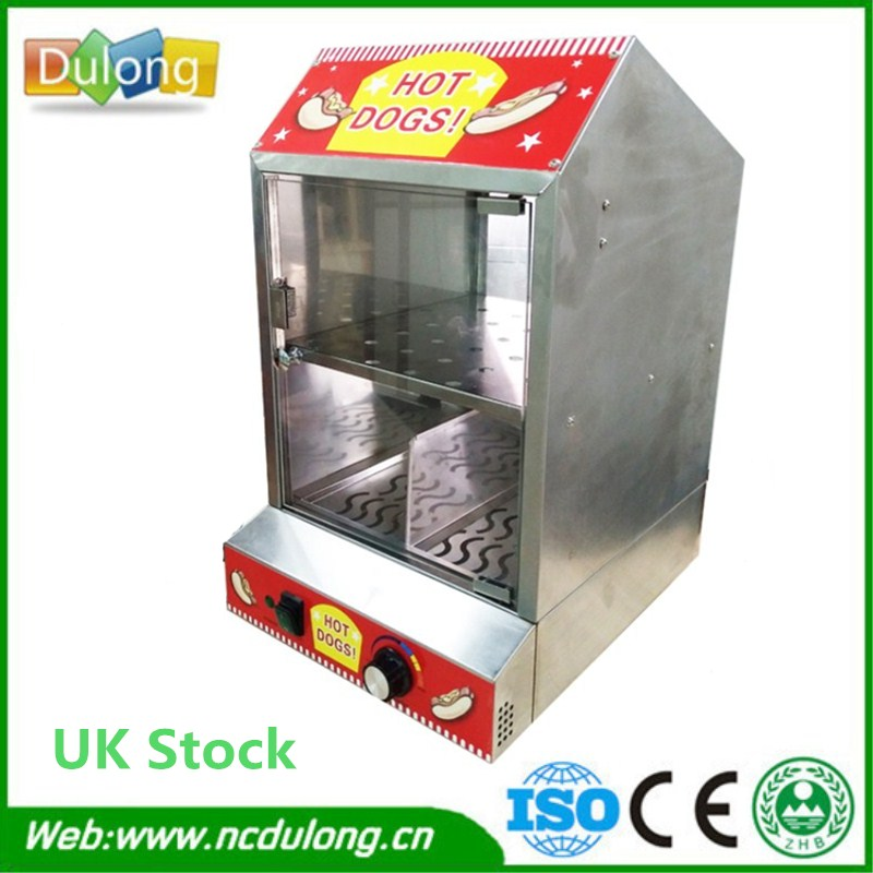 Hot Dog Display Electric Food Warmer Stainless Steel Food Warmer Cabinet Warmer Showcase Warmer Display high quality hot dog display showcase food warmer stainless steel bread sandwich countertop tool