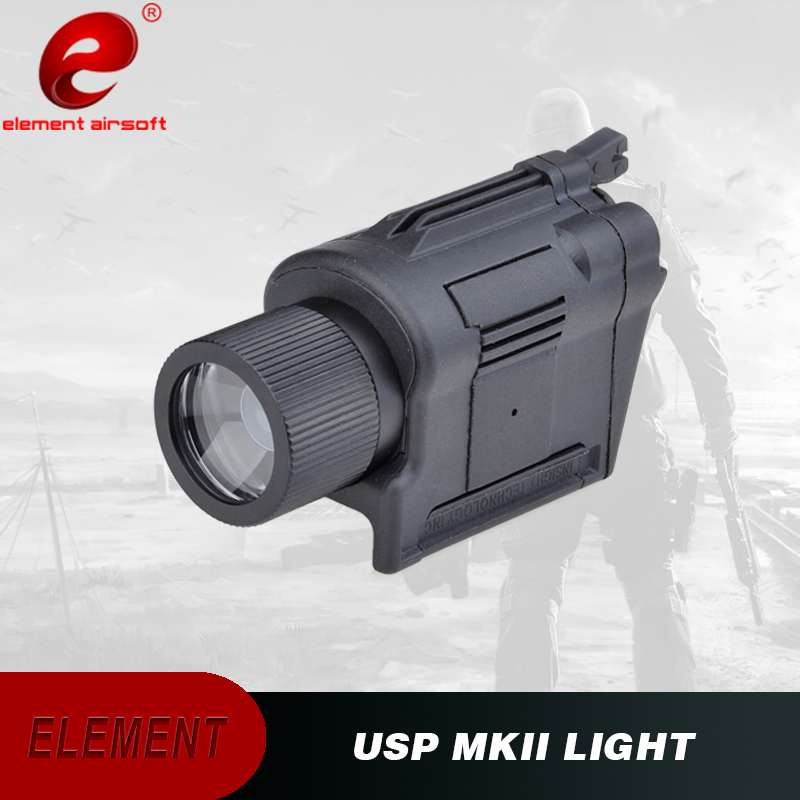 Airsoft Element Pistol Light USP MkII Weapon Light 220 Lumens Spotlights Pistol Flashlight Picatinny EX365