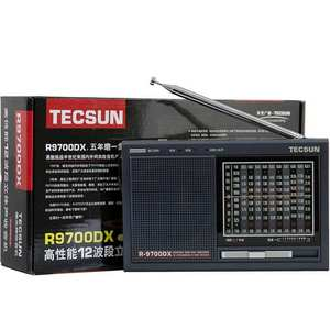 Image 5 - TECSUN R 9700DX Fm Radio Original Guarantee SW/MW High Sensitivity World Band Radio Receiver With Speaker Portable Radio