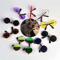 Hot Sale Cool Cat Pet Glasses For Little Dog Cat Products Eye-Wear Dog Pet Sunglasses Pet Supplies Photos Props Accessories
